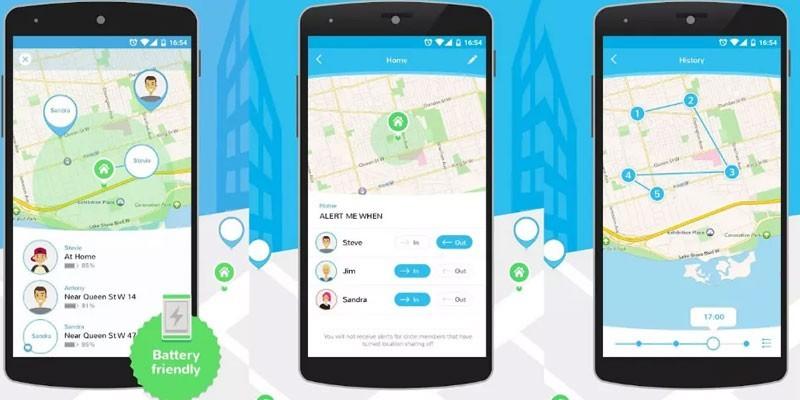 Приложение GPS-трекер Family Locator