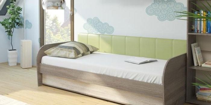 Подростковая кровать с подъемным механизмом