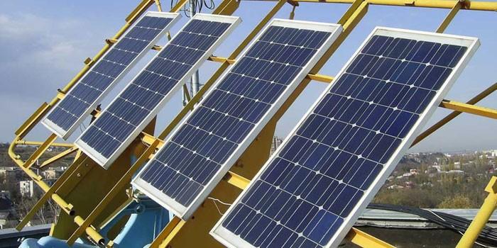 Фотоэлектрическая крышная система