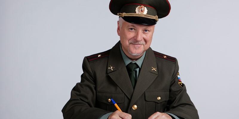 Мужчина в военной форме