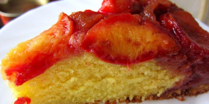 Сливовый тарт татен