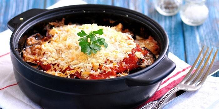Баклажаны Пармеджано - как приготовить пошагово по рецептам с курицей, мясным фаршем или печеным перцем