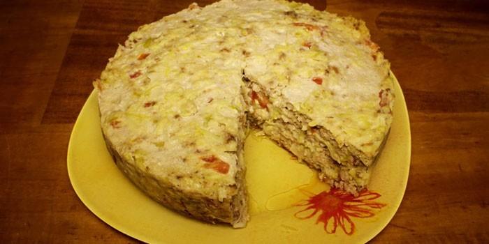 Запеканка из кабачков с фаршем в мультиварке рецепты с фото пошагово