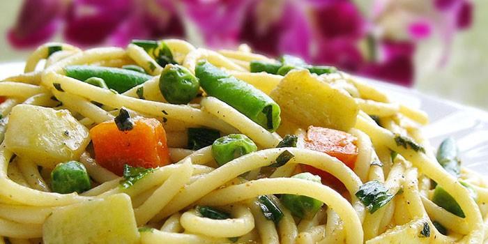 Спагетти по-восточному