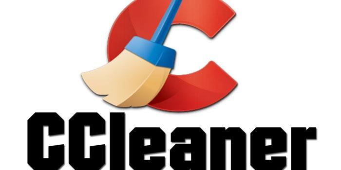 Логотип программы CCleaner