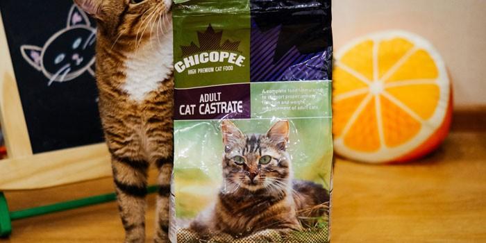 Для кастрированных котов Chicopee
