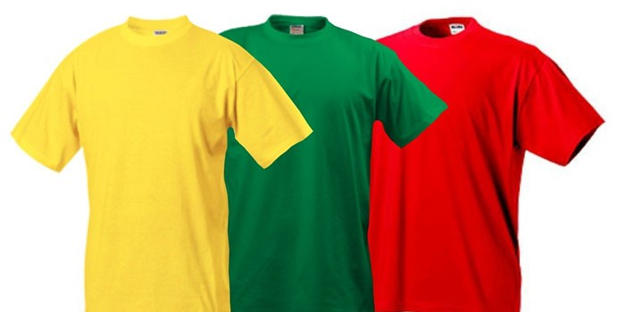 Мужские футболки разных цветов