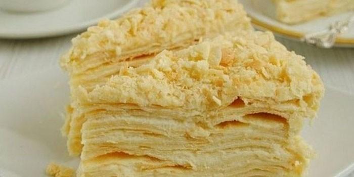 Заварной крем для прослойки торта
