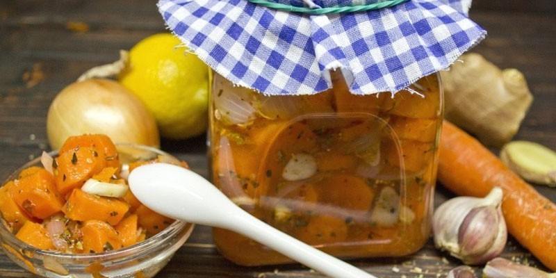 Маринованная морковь - закуска быстрого приготовления