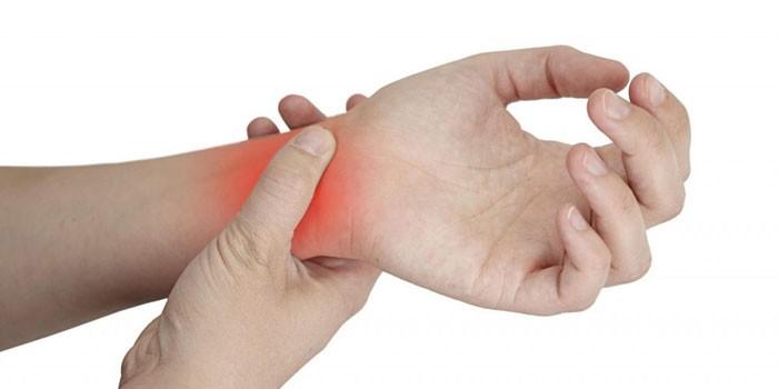 Боль в суставе руки