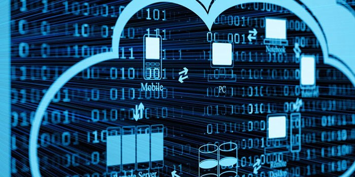 Схема майнинга криптовалют в облачном сервисе