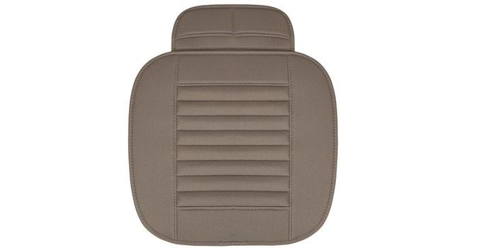 Накидки на сиденья автомобиля - как выбрать для водителя или универсальные из меха, дерева, кожи и ткани