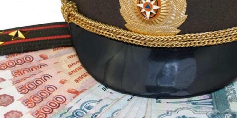 Фуражка и погоны на денежных купюрах