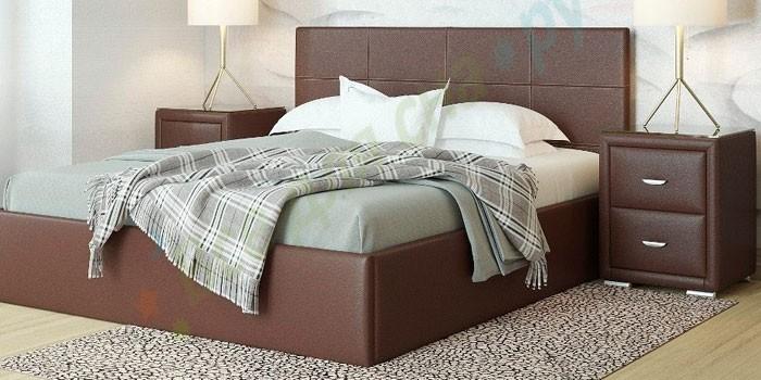 Двуспальная кровать с подъемным механизмом Орматек Alba