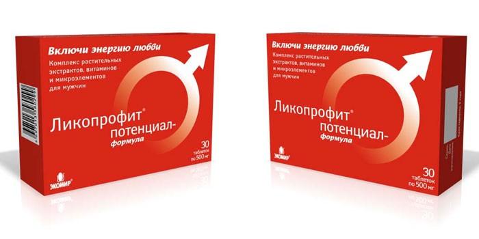 Препарат Ликопрофит Потенциал в упаковке