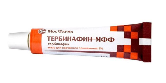 Мазь Тербинафин-МФФ в тубе