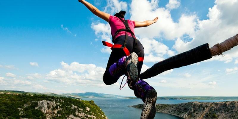 Прыжок из высоты