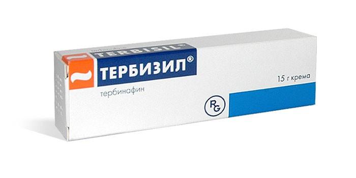 Мазь Тербизил в упаковке