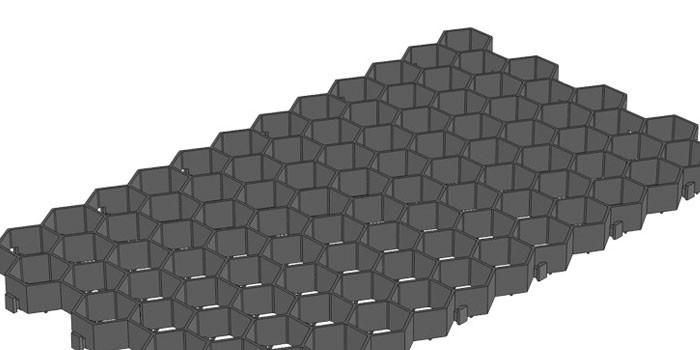 Ячеистая Gidrolica 608 черная