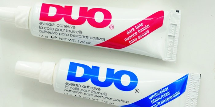 Прозрачный клей для наращивания ресниц DUO, Eyelash Adhesive, Clear-White