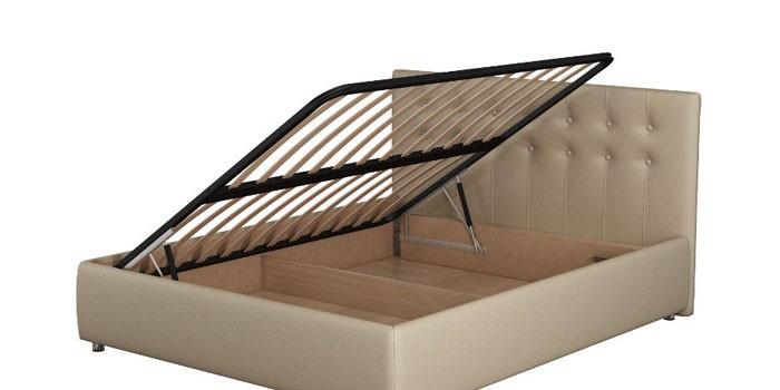 Двуспальная кровать с боковым подъемным механизмом Орматек Como 3