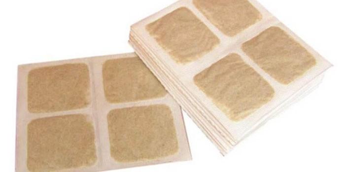 Горчичники на бумажной основе