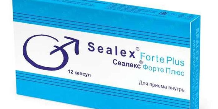 Препарат Сеалекс в упаковке