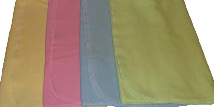 Ткань интерлок разных цветов