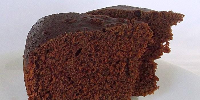 Готовый шоколадный бисквит