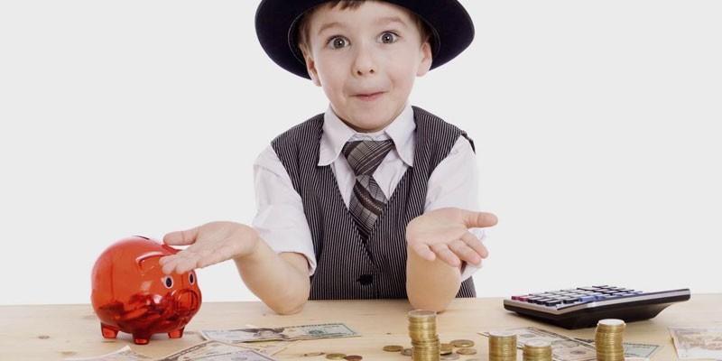 Мальчик и деньги