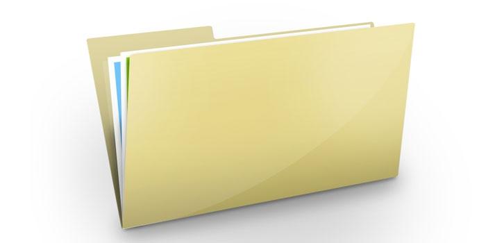 Значок папки с файлами
