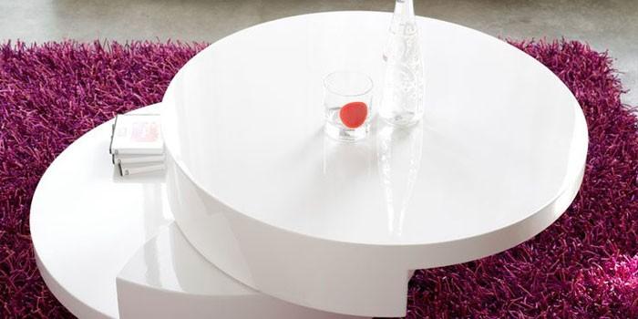 Столик круглой формы Dupen CT-042