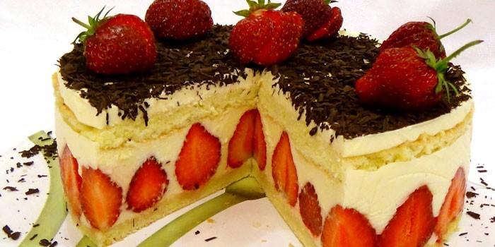 Классический торт Фрезье