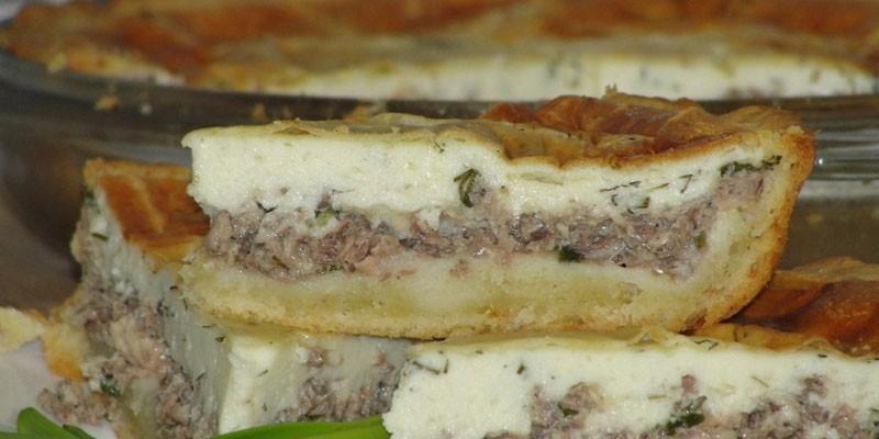 Заливной пирог с сайрой: как приготовить вкусное блюдо