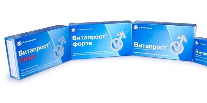 Линейка препаратов Витапрост