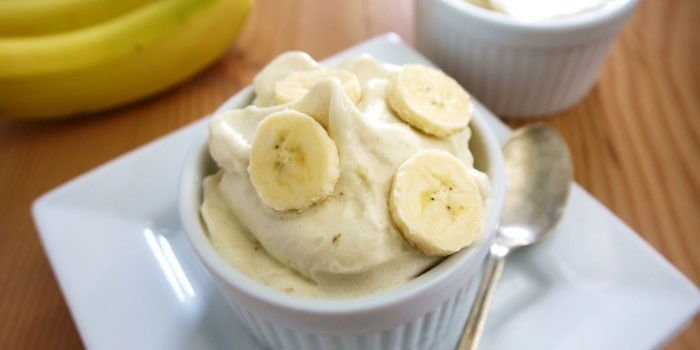 Бананово-йогуртовое мороженое