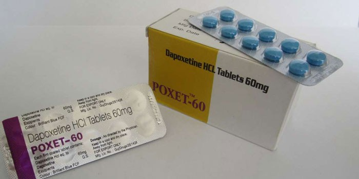 Препарат Дапоксетин в упаковке