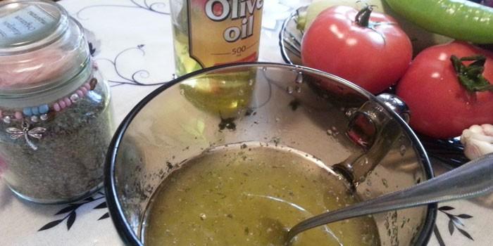 Маринад c оливковым маслом