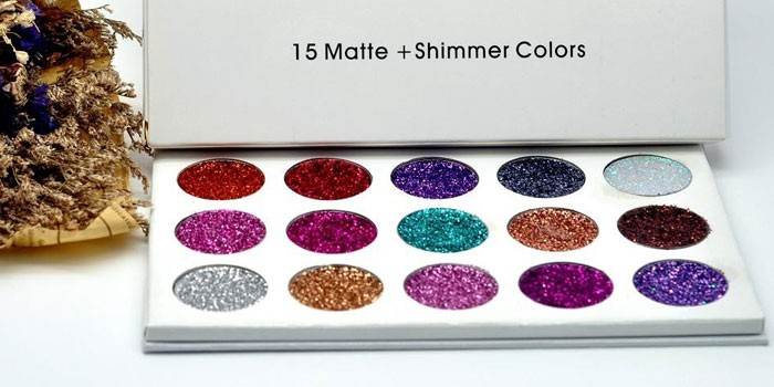 Палетка глиттеров Glamierre Unicorn Glitter Palette