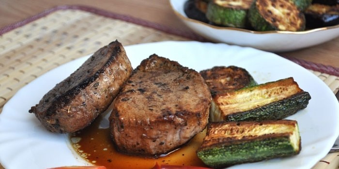 Жареное мясо