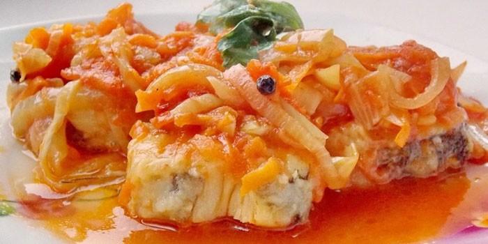 Рецепт рыбы под маринадом