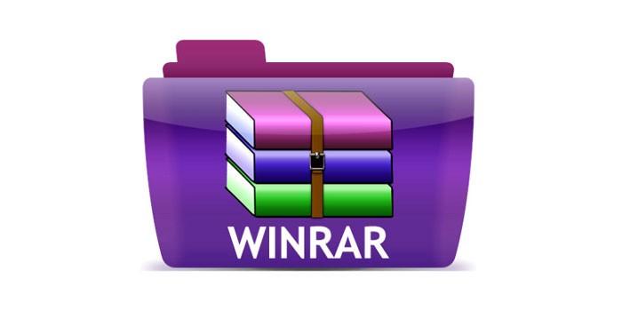 Ярлык программы WinRAR