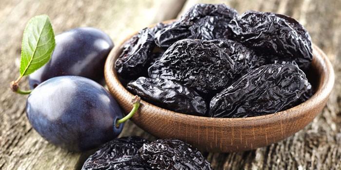 Свежие и сушеные плоды