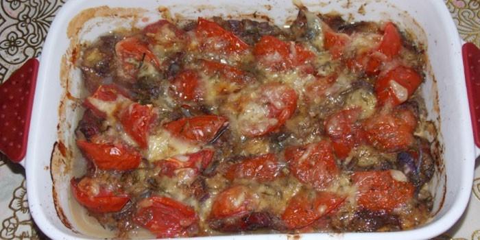 С помидорами