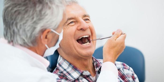 Пациент у стоматолога