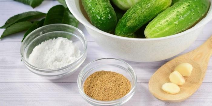 Ингредиенты для рецепта с горчицей