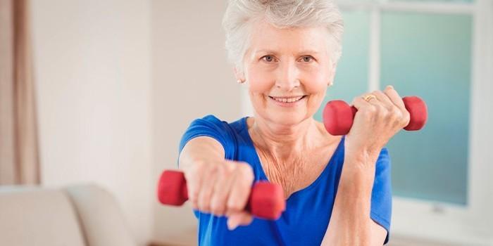 Необысные упражнения для пожилых