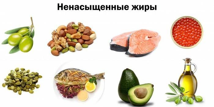 Ненасыщенные жиры