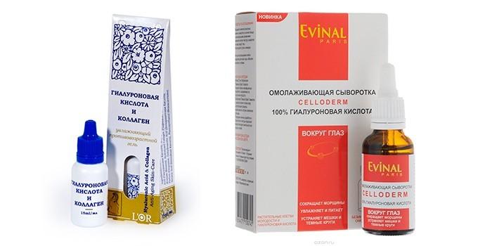 Косметические средства с гиалуроновой кислотой