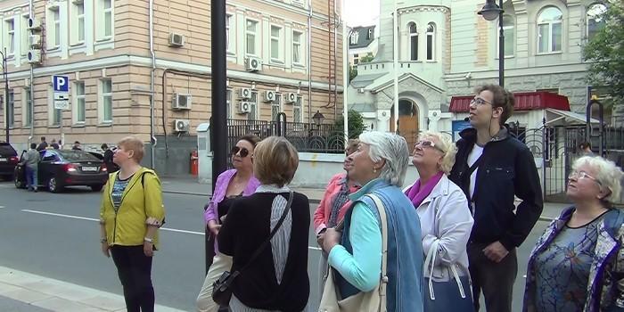 Группа на экскурсии